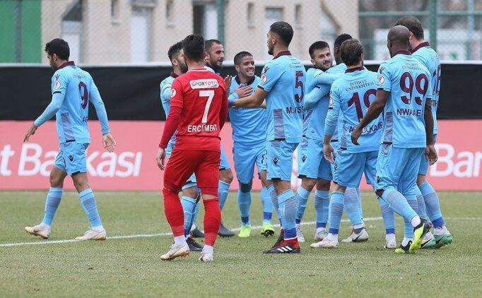 Trabzonspor gol düellosunda yenişemedi