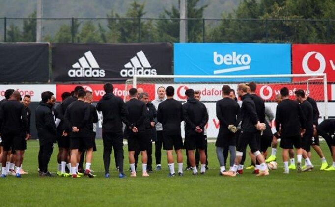 Beşiktaş'ın Alanyaspor kadrosunda 5 eksik