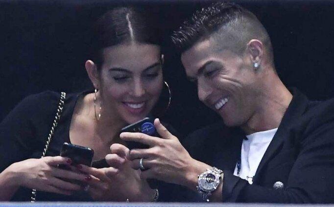 Cristiano ve Georgina, 15 dakikada 31 bin euro hesap ödedi