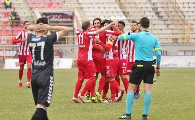 Boluspor evinde Manisa'ya gol yağdırdı
