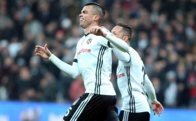 Pepe'nin attığı golün ardından ilginç olay ve açıklama