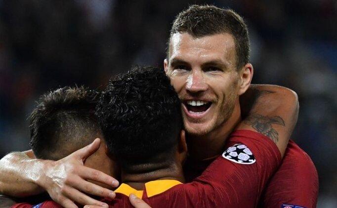 Edin Dzeko: ''Şampiyonlar Ligi'nde gol atmak daha kolay''