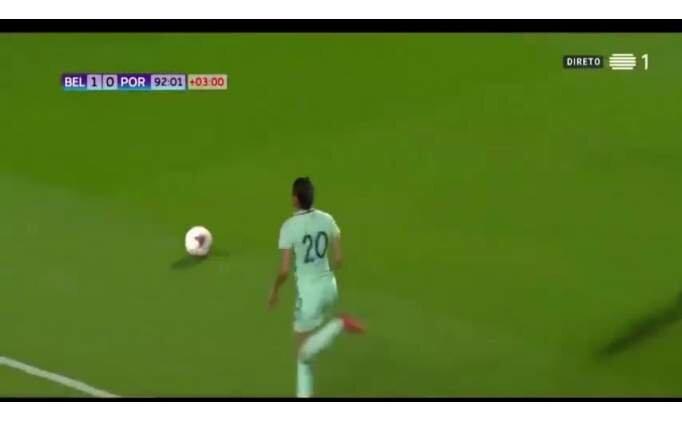 Portekizli Kadın Futbolcu Jessica Silva'nın Über Çalımı