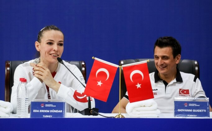 Guidetti ve Eda Erdem'den Dünya Şampiyonası değerlendirmesi