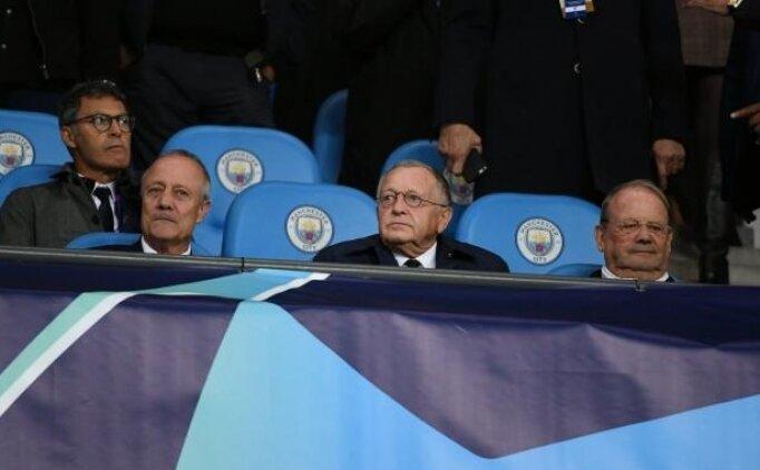 Lyon Başkanı Aulas: 'City'i yenen tek takım...'