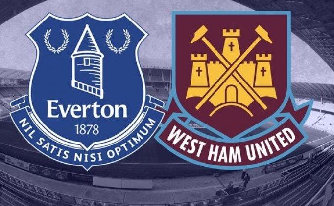 Everton West Ham United maçı canlı hangi kanalda saat kaçta?