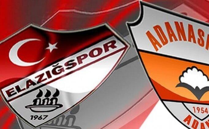 Adanaspor Elazığspor maçı CANLI saat kaçta hangi kanalda?