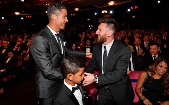 Ronaldo ve Messi, Super Classico'yu birlikte izleyecek