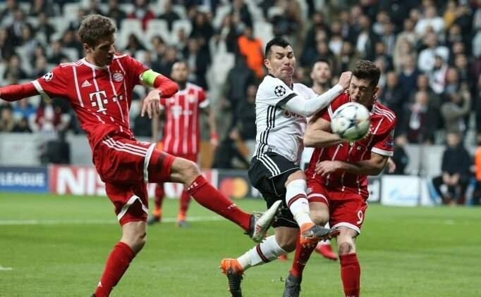 BJK maçı özeti izle, Beşiktaş Bayern Münih maçı, golleri pozisyonları