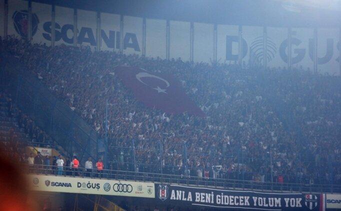 Beşiktaş taraftarından Fenerbahçe'ye teşekkür