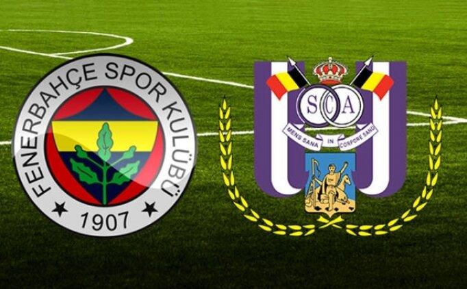 Fenerbahçe Anderlecht maçı geniş özeti izle