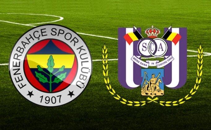 UEFA Avrupa Ligi Fenerbahçe 2-0 Anderlecht maçı özeti, golleri izle