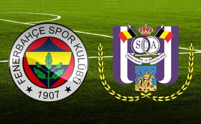08.11.2018 Fenerbahçe Anderlecht maçı (beIN Sports özet izle)