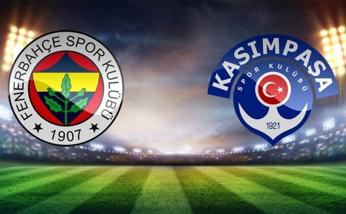 (GENİŞ ÖZET) Fenerbahçe 2-2 Kasımpaşa maçı izle