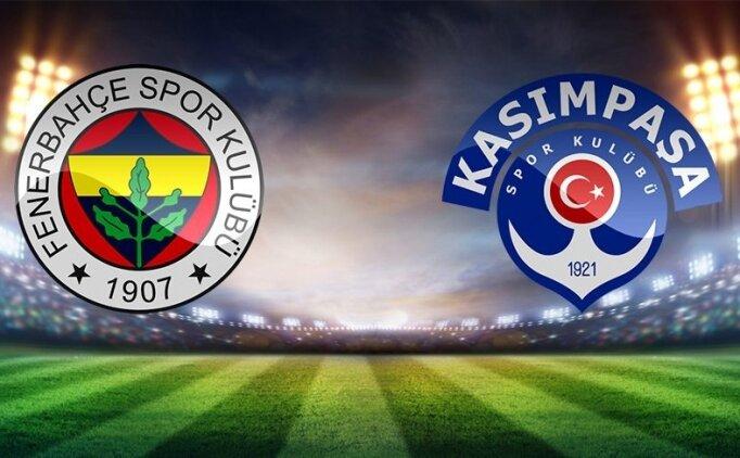 Süper Lig Fenerbahçe 2-2 Kasımpaşa maçı özeti, golleri izle