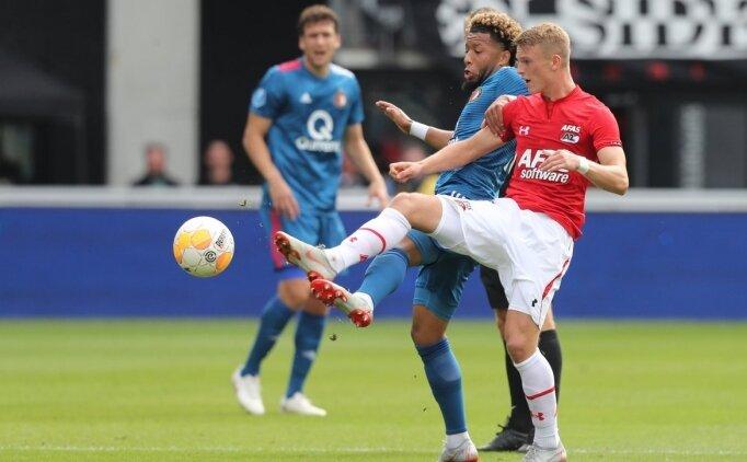 AZ Alkmaar ve Feyenoord puanları paylaştı