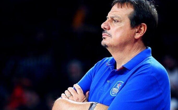 Ergin Ataman: 'Çok iyi bir maç çıkardık'