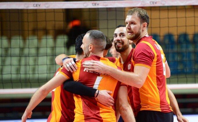 Galatasaray, erkeklerde de 8'li finale yükseldi