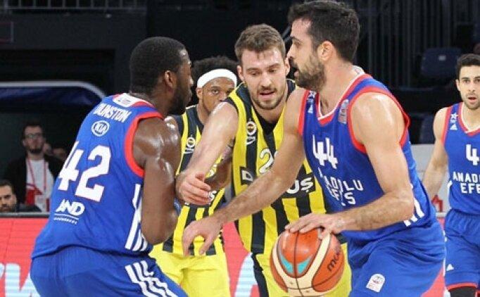 Fenerbahçe Anadolu Efes maçı canlı hangi kanalda saat kaçta?