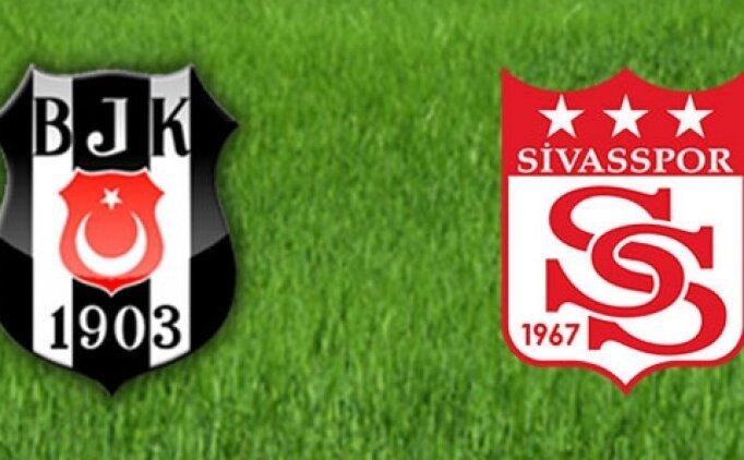 Beşiktaş Sivasspor maçı canlı hangi kanalda? Beşiktaş Sivas maçı saat kaçta?