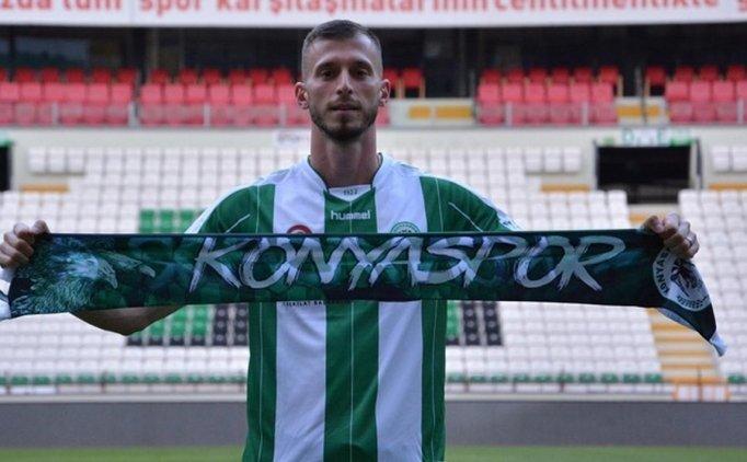 Konyaspor'un bel kemiği sezonu kapattı