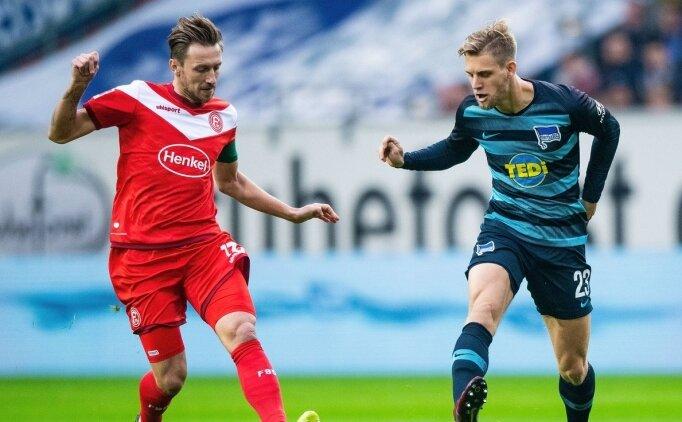 Düsseldorf, 6 maçlık serinin acısını Hertha'dan çıkardı!