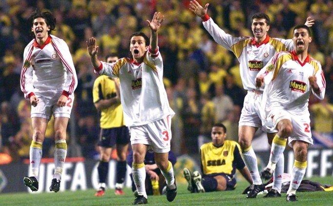 Galatasaray'ın UEFA Kupası zaferinin 18. yıl dönümü
