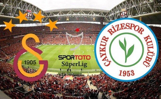 [SON DAKİKA] Galatasaray Rizespor maçı özet görüntüleri izle