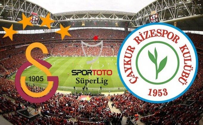 İZLE | Galatasaray 2-2 Rizespor maçı özeti ve golleri