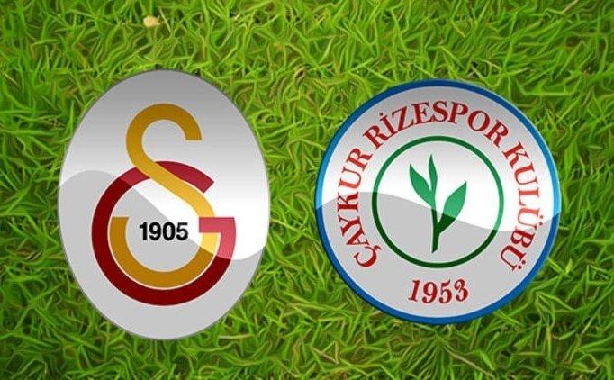 (GENİŞ ÖZET) Galatasaray Rizespor maçı izle