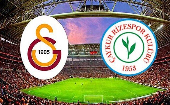 Süper Lig Galatasaray Rizespor maçı özeti, golleri izle