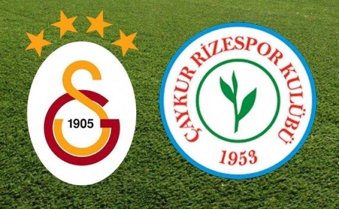Galatasaray 2-2 Rizespor maçı özeti izle