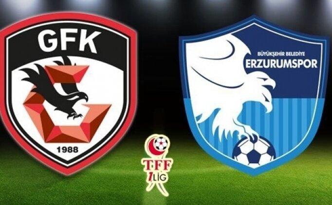 Gazişehir Gaziantep Erzurumspor maçı canlı hangi kanalda? Gazişehir Erzurum saat kaçta?