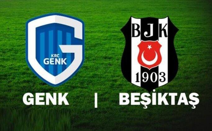 İşte Genk Beşiktaş maçı golleri ve özeti (İZLE)