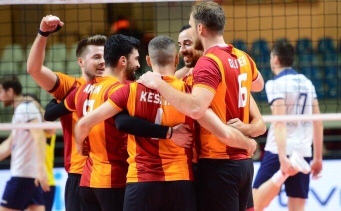 Galatasaray Erkek Voleybol Hırvatistan deplasmanında