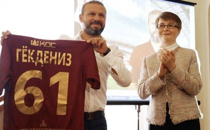 Gökdeniz Karadeniz'e Tataristan'dan büyük onur