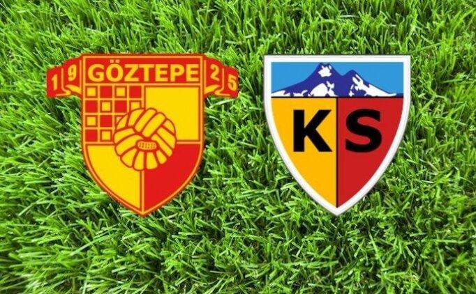 Göztepe Kayserispor maçı canlı hangi kanalda saat kaçta?