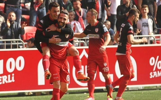 Samsunspor seriye bağladı, bu kez Erzurumspor...