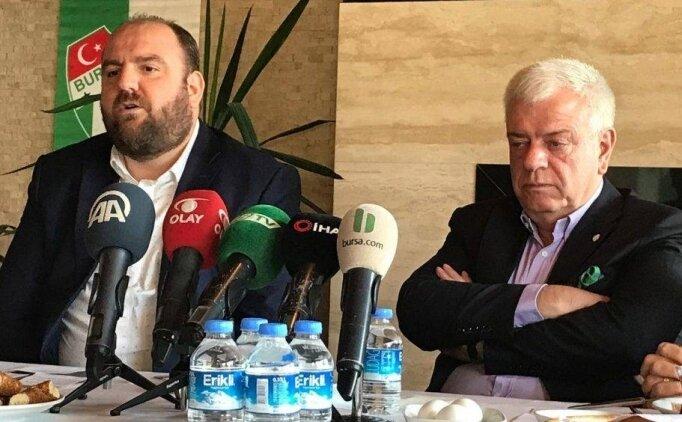 Bursaspor yönetiminden sosyal medya tepkisi