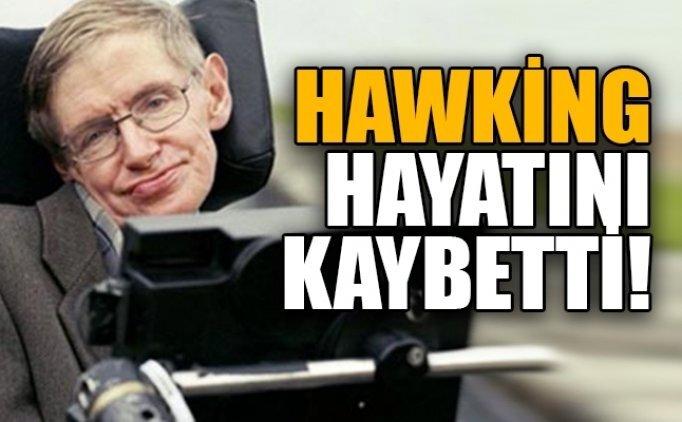 Stephen Hawking kaç yaşında öldü? Stephen Hawking kimdir, nerelidir?