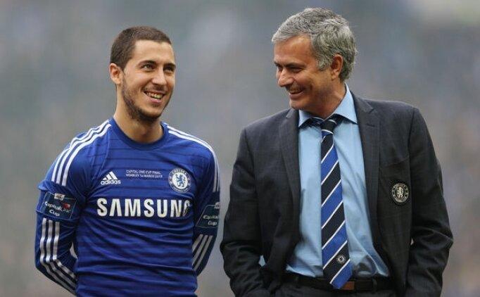 Hazard'dan Mourinho için çarpıcı sözler!