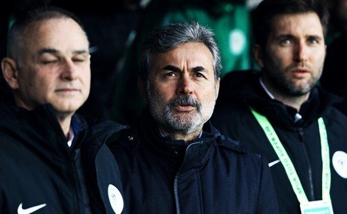 Trabzon'da 'Aykut Kocaman şike yapsana' sesleri