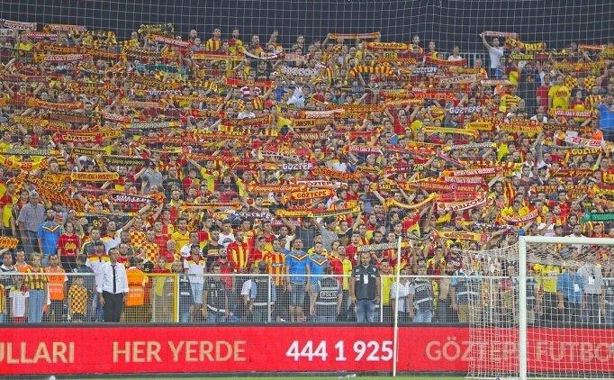 Göztepe'den Beşiktaş maçı öncesi bilet açıklaması