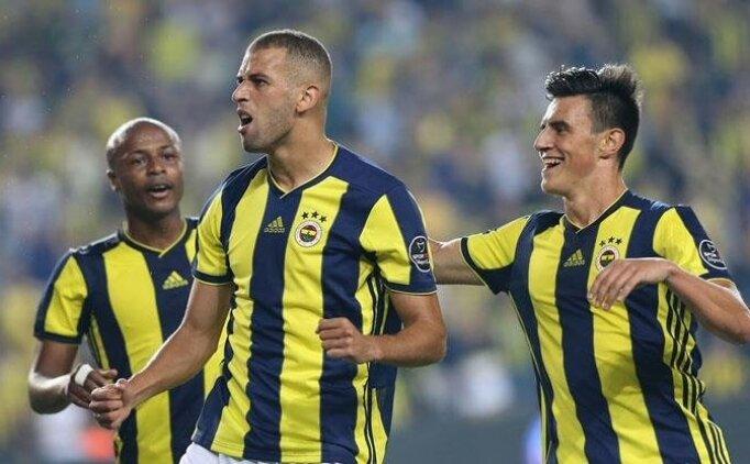 Fenerbahçe'de Slimani atağa kalktı!