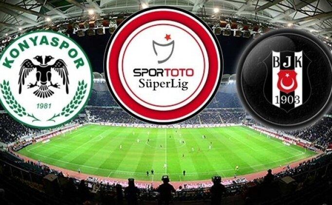 Konyaspor Beşiktaş maçı geniş özeti, Beşiktaş maçı golleri