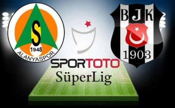 ÖZET Alanyaspor Beşiktaş maçı özeti, pozisyonları izle, VAR kararları