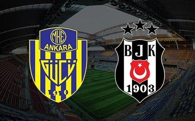 MAÇ ÖZETİ İZLE Ankaragücü Beşiktaş maçı