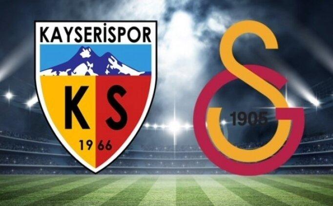Kayserispor Galatasaray ÖZET İZLE, Galatasaray maçı golleri izle