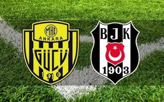 Ankaragücü Beşiktaş maçı geniş özeti izle