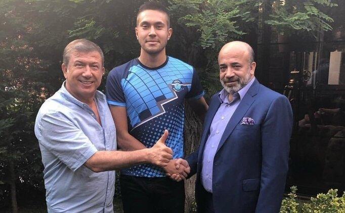 Adana Demirspor'a genç golcü